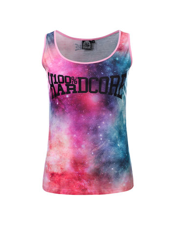 100% Hardcore 100% Hardcore Dames Singlet 'Dream' Allover