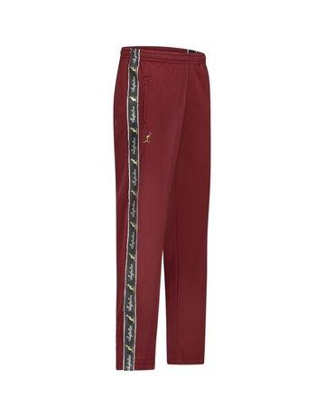 Australian Australian Track Pants with tape (Bordeaux/Black)