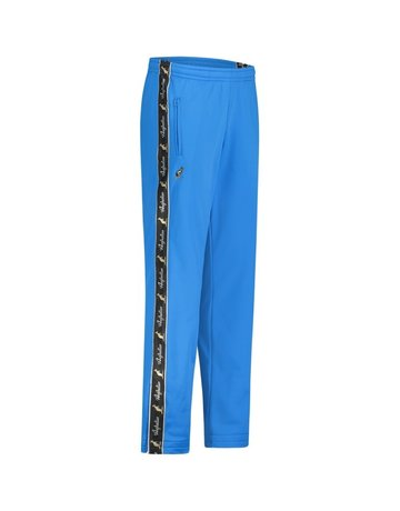 Australian Australian Track Pants with tape (Capri Blue/Black)