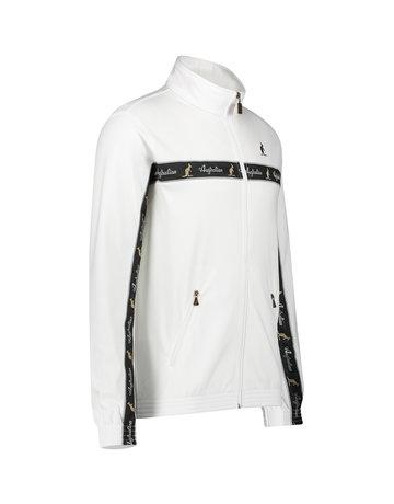Australian Australian Uni Trainingsjacke mit Streifen (White/Black)