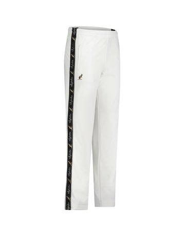 Australian Australian Track Pants with tape (White/Black)