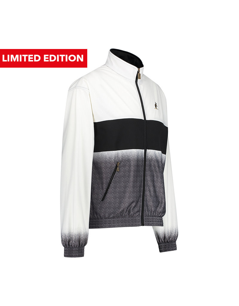 Australian Australian Duo Print Jacket Acetaat Limited (White/Black)