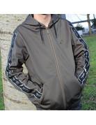 Australian Australian Hooded Trainingsjasje (Green Dill/Black)