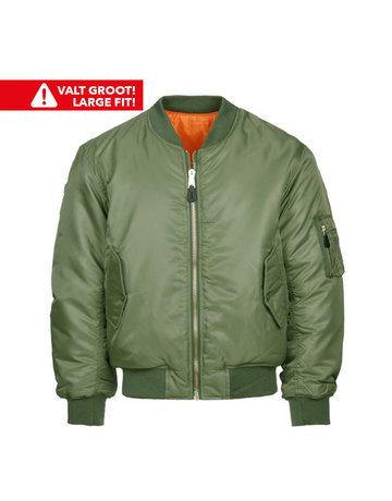 Fostex Garments Fostex Garments MA-1 Bomber Jack (Green)