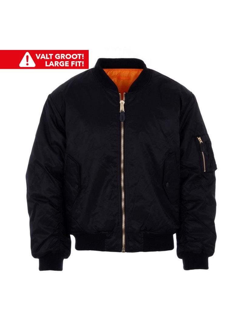 Fostex Garments Fostex Garments MA-1 Bomber Jack (Black)