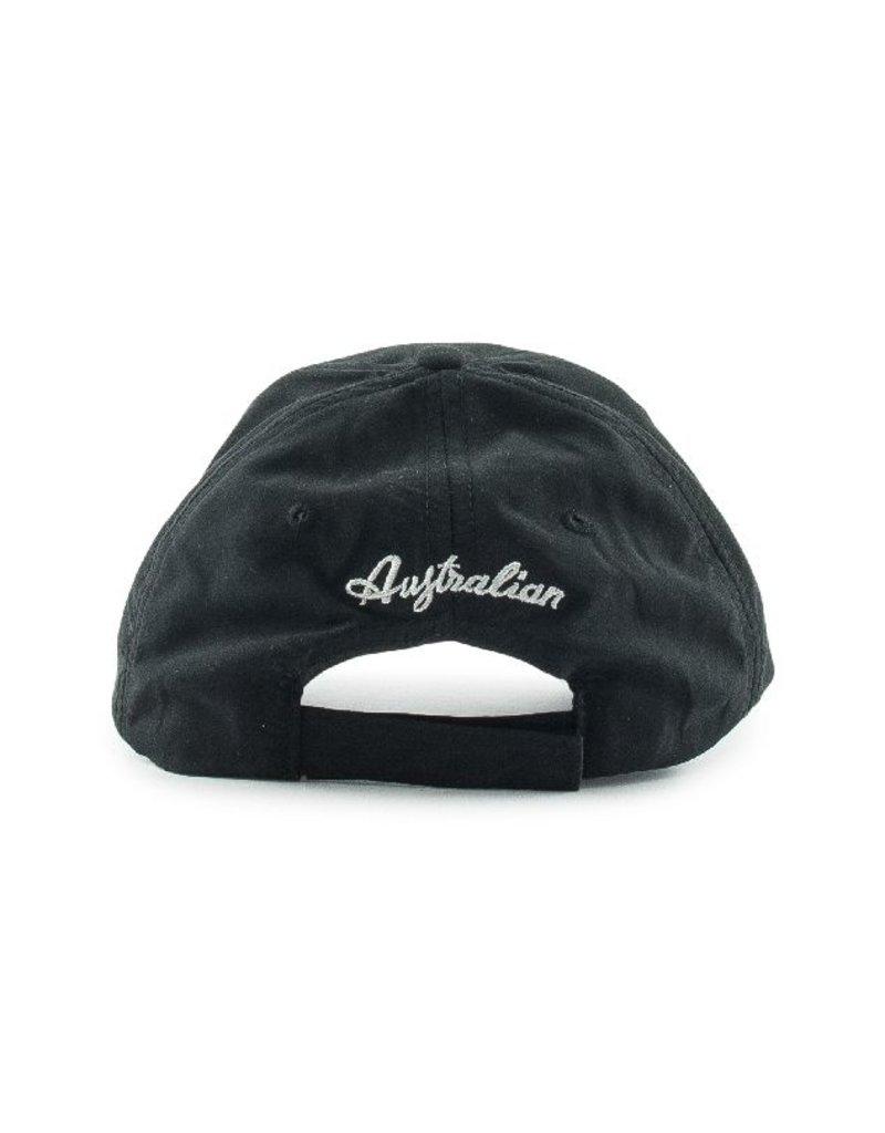 Australian Australian Microfiber Cap (Black)