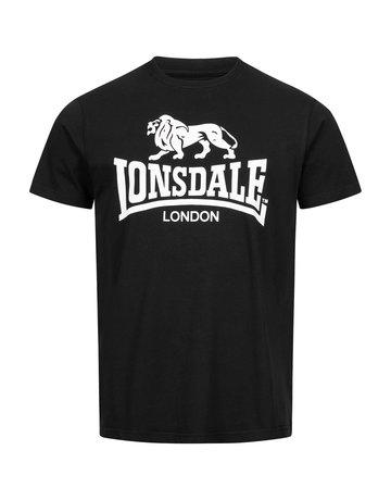 Lonsdale Lonsdale T-Shirt 'Logo Gots' Black