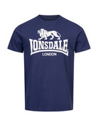 Lonsdale Lonsdale T-Shirt 'Logo Gots' Navy