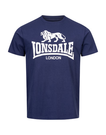 Lonsdale Lonsdale T-Shirt 'Logo Gots' Navy