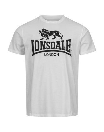 Lonsdale Lonsdale T-Shirt 'Logo Gots' White