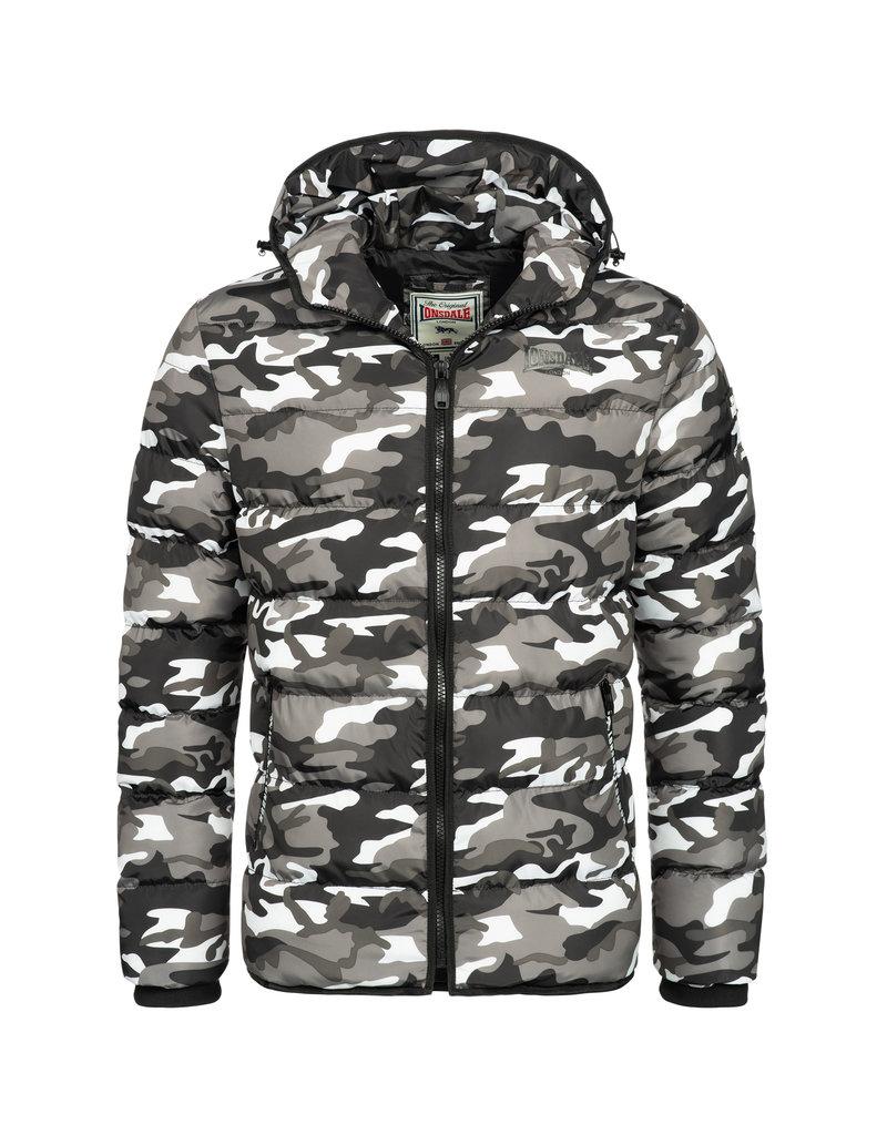 Lonsdale Lonsdale Mens Winter Hooded Jacket 'Loman'