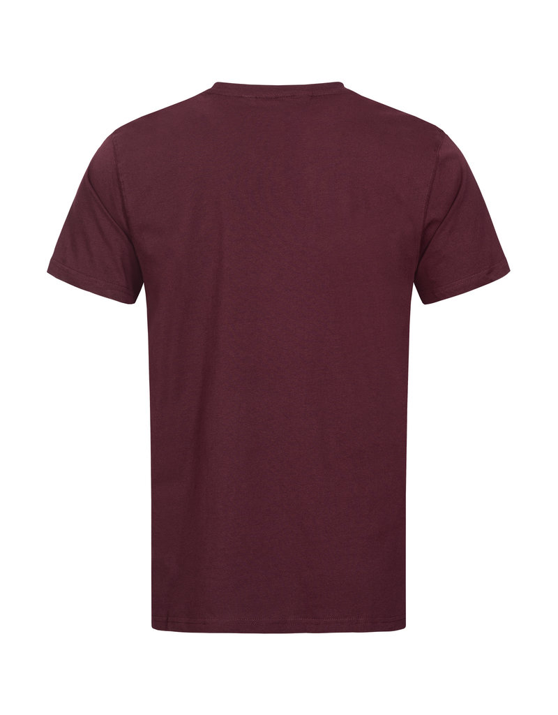 Lonsdale Lonsdale T-Shirt 'Walkley' Vintage Oxblood