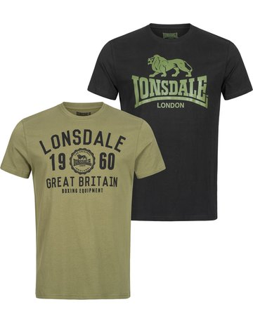 Lonsdale Lonsdale T-Shirt 'Bangor Doppelpack' (2-Pack)