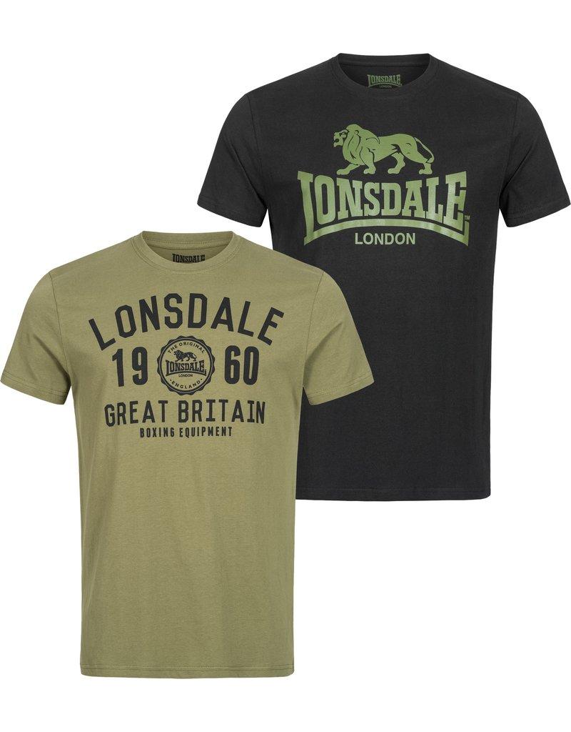 Lonsdale Lonsdale T-Shirt 'Bangor' (2-Pack)