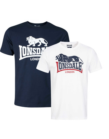 Lonsdale Lonsdale T-Shirt 'Loscoe Doppelpack' (2-Pack)