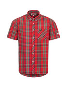 Lonsdale Lonsdale Men Shirt Slim Fit 'Brixworth' Royal Steward