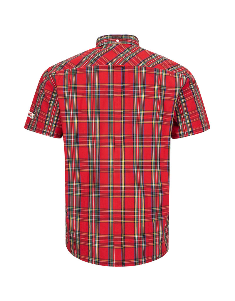 Lonsdale Lonsdale Slim-Fit Overhemd 'Brixworth' Royal Steward