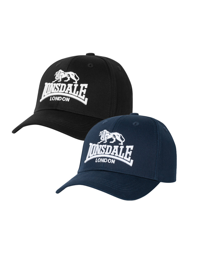 Lonsdale Lonsdale Kappe 'Wiltshire' Doppelpack