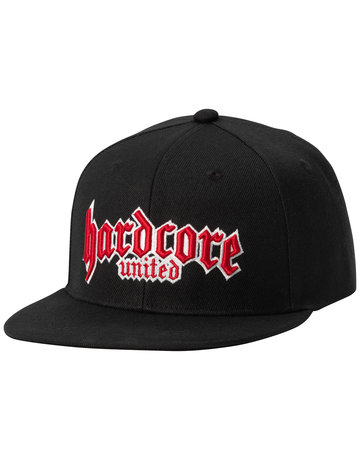 Hardcore United Hardcore United Kappe 3D Logo