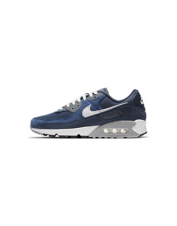Nike Nike Air Max 90 Premium 'Obsidian/Summit White-Midnight Navy'