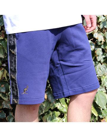 Australian Australian Kurze Jogginghose mit Streifen (Blue Cosmo/Black)