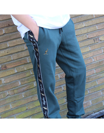 Australian Australian Sweatpants with tape (Woods Green/Black)