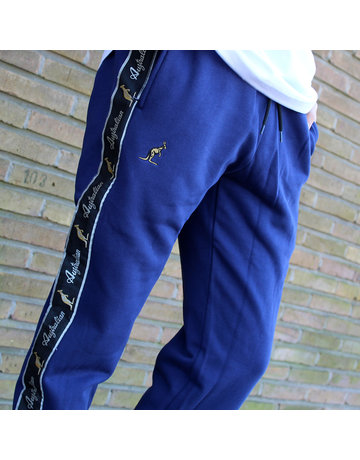 Australian Australian Sweatpants with tape (Blue Cosmo/Black)