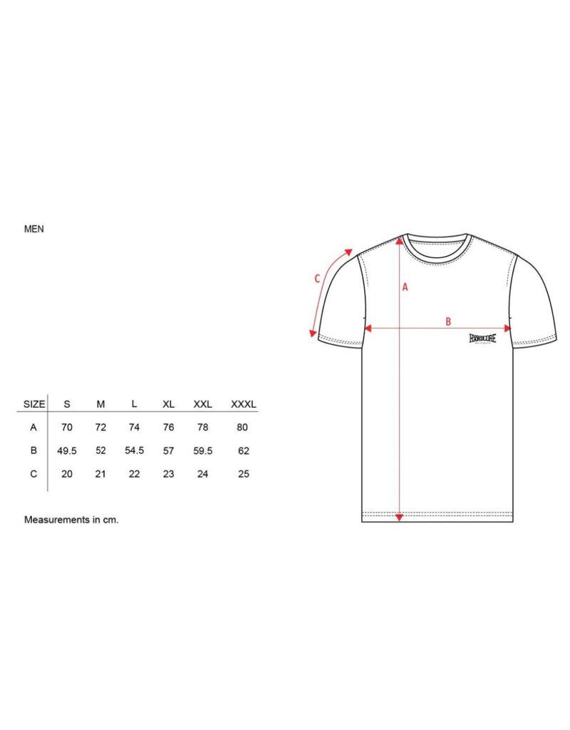 100% Hardcore 100% Hardcore T-shirt 'United Sport' Grey