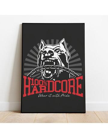 100% Hardcore 100% Hardcore A2 Poster 'Dog*1'