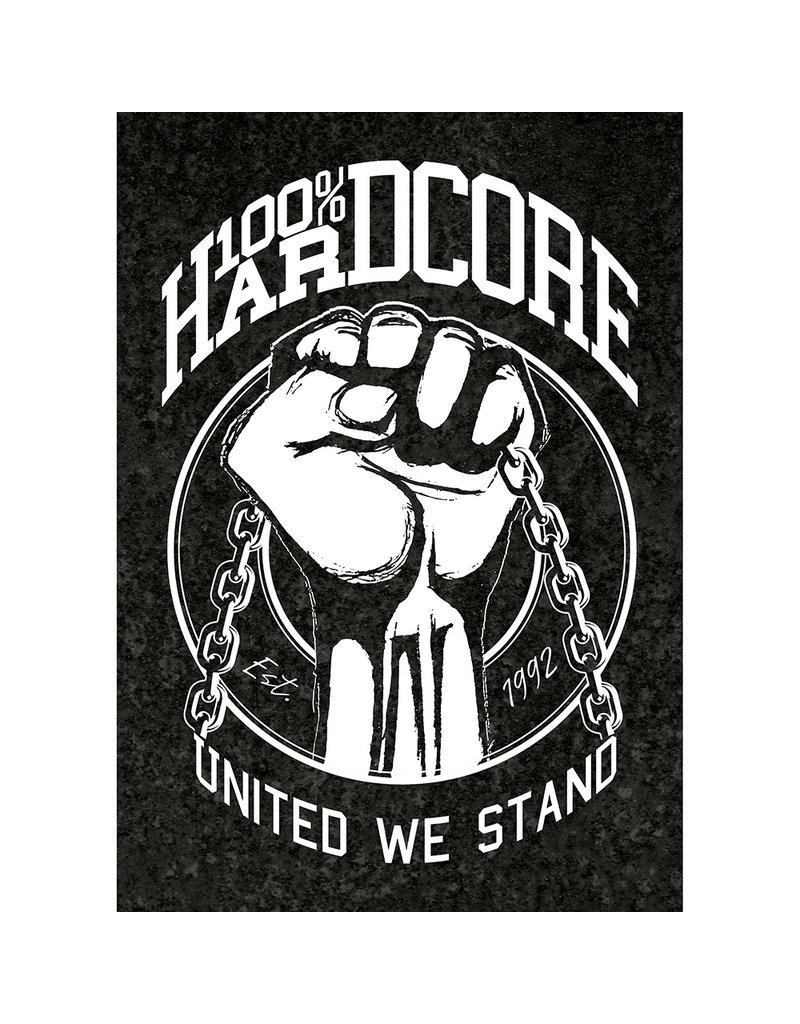 100% Hardcore 100% Hardcore A2 Poster 'United We Stand'
