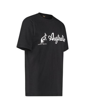 Australian Australian Logo T-Shirt Jersey (Black/White)