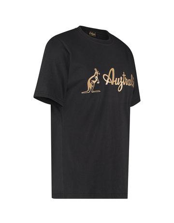 Australian Australian Logo T-Shirt Jersey (Black/Brass)