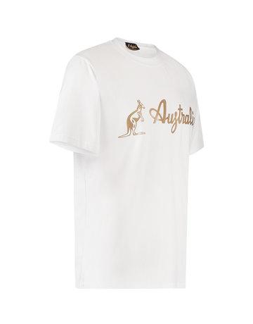 Australian Australian Logo T-Shirt Jersey (White/Brass)