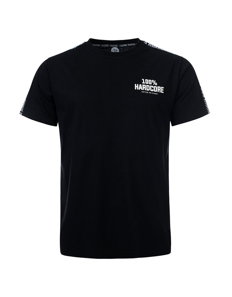 100% Hardcore 100% Hardcore T-shirt 'United Sport' Black