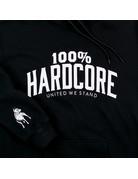 100% Hardcore 100% Hardcore Hooded Sweater 'United Sport' Black