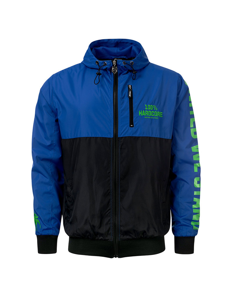100% Hardcore 100% Hardcore Windbreaker 'United Sport' Blue