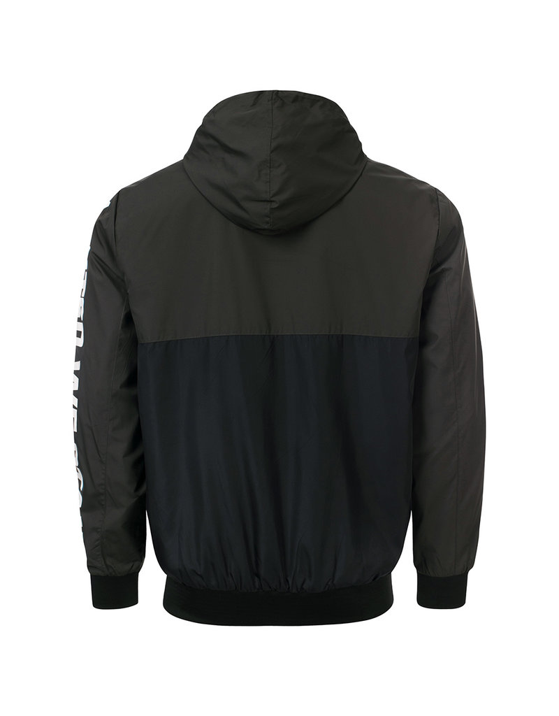 100% Hardcore 100% Hardcore Windbreaker 'United Sport' Black