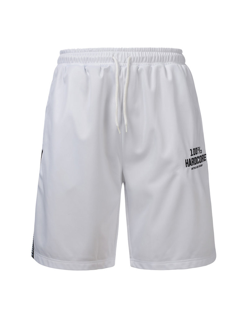 100% Hardcore 100% Hardcore Shorts 'United Sport' White