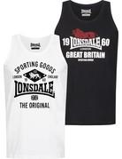 Lonsdale Lonsdale Singlet 'Biggin' (2-Pack)
