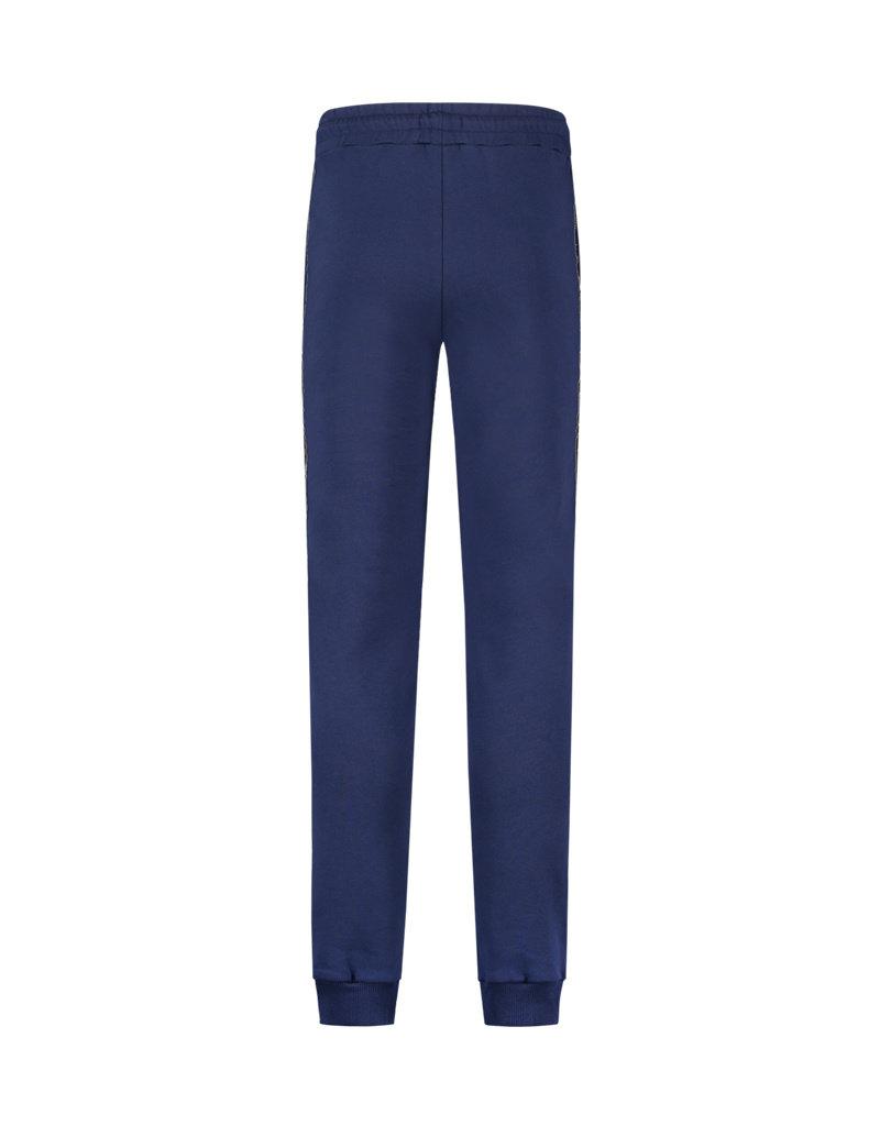 Australian Australian Sweatpants with tape (Blue Cosmo/Black)