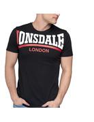 Lonsdale Lonsdale T-Shirt 'Creaton' Slim Fit (Black)