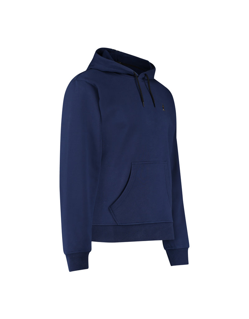 Australian Australian Hoodie with tape on the back (Blue Cosmo/Black)