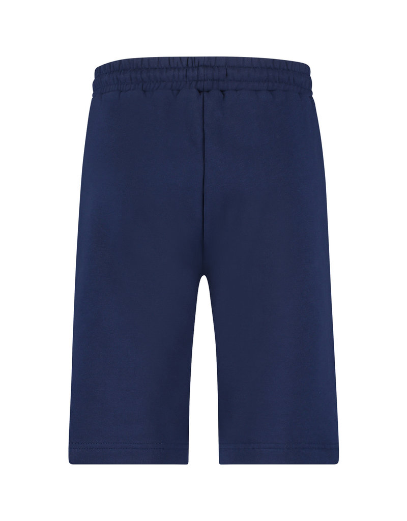 Australian Australian Sweatpants Shorts with tape (Blue Cosmo/Black)