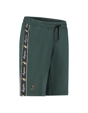 Australian Australian Sweat Shorts with tape (Woods Green/Black)