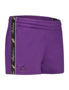 Australian Australian kurze Sporthose für Damen mit Streifen (Violet/Black)