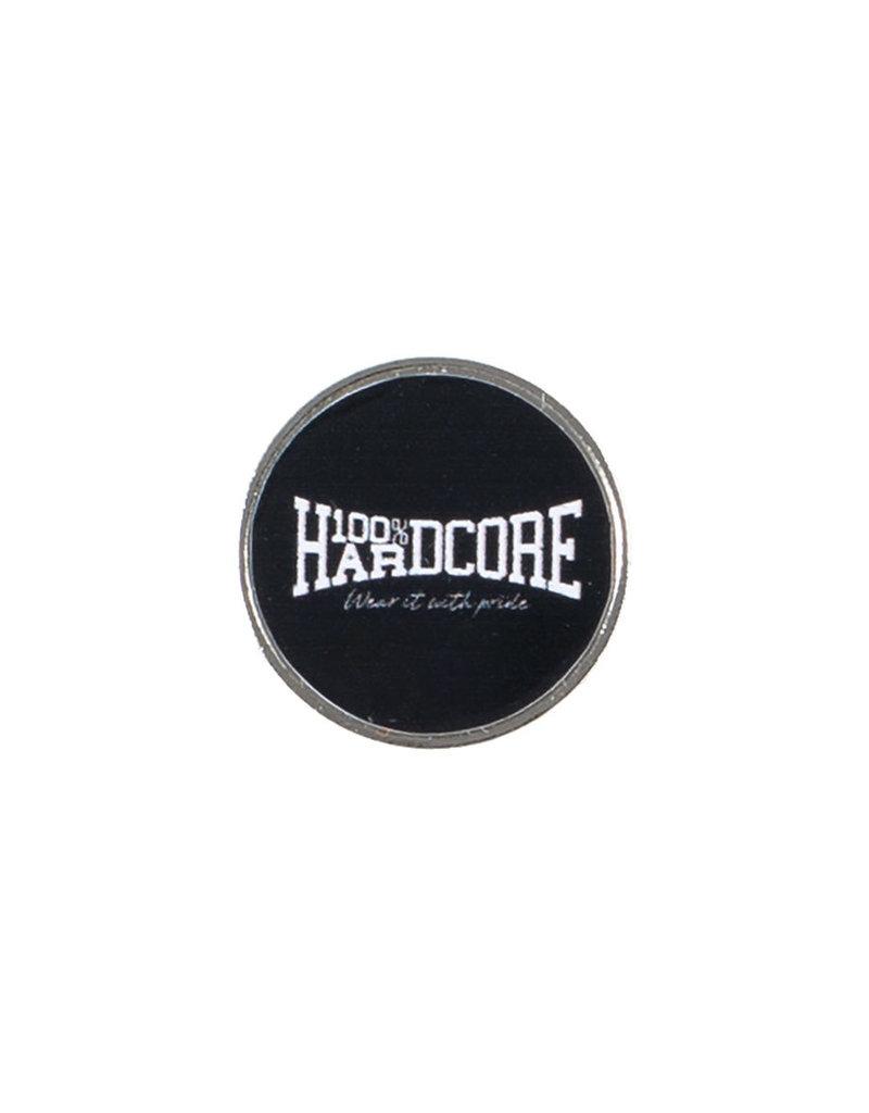 100% Hardcore 100% Hardcore Pin Logo