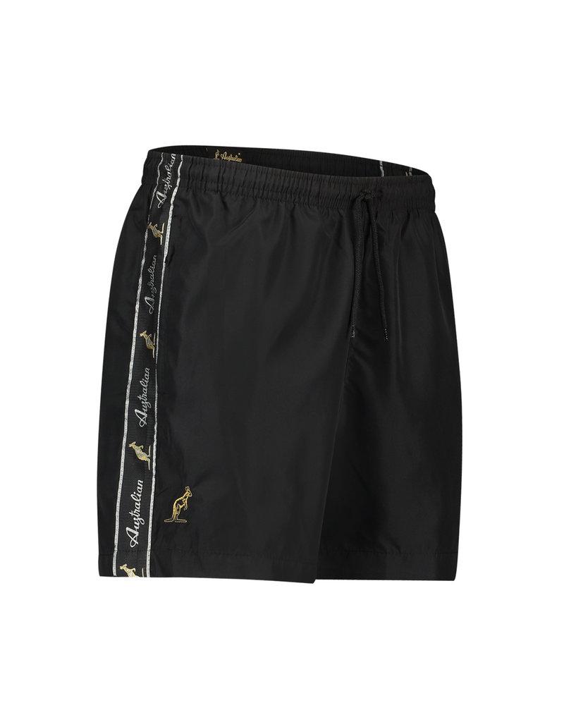 Australian Australian Swim Shorts Smash with tape (Black/Black)
