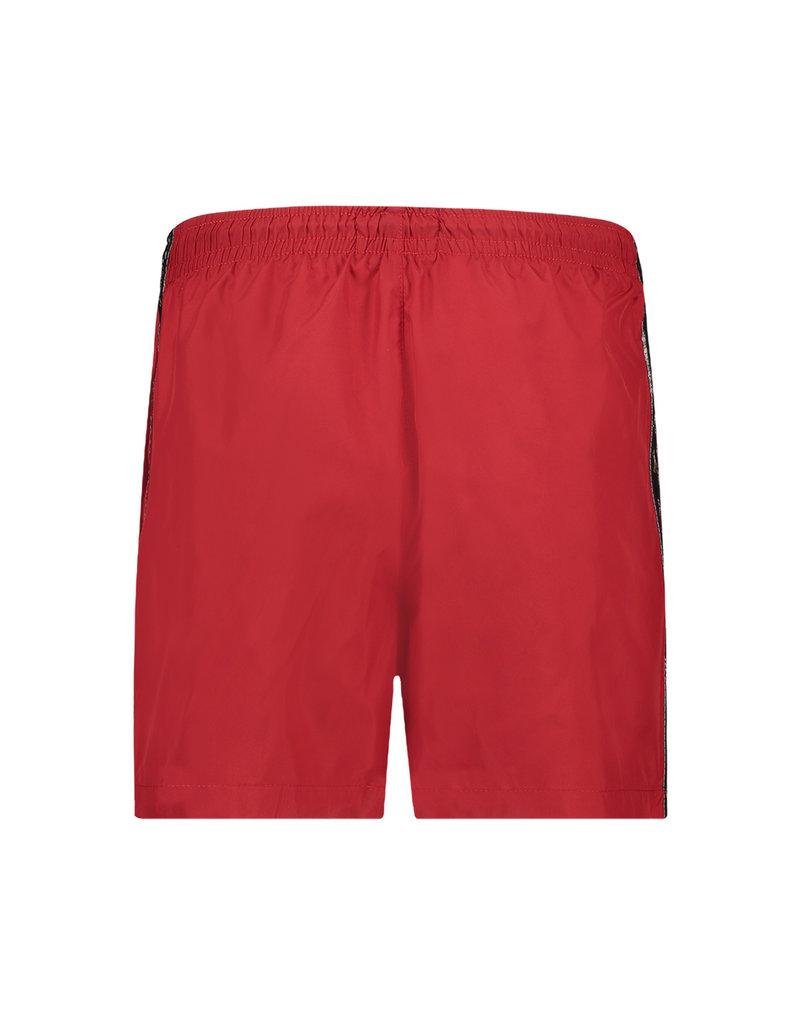 Australian Australian Swim Shorts Smash with tape (Tango Red/Black)