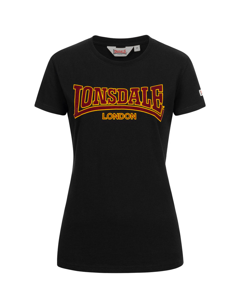 Lonsdale Lonsdale Women's T-shirt 'Ribchester' (Black)