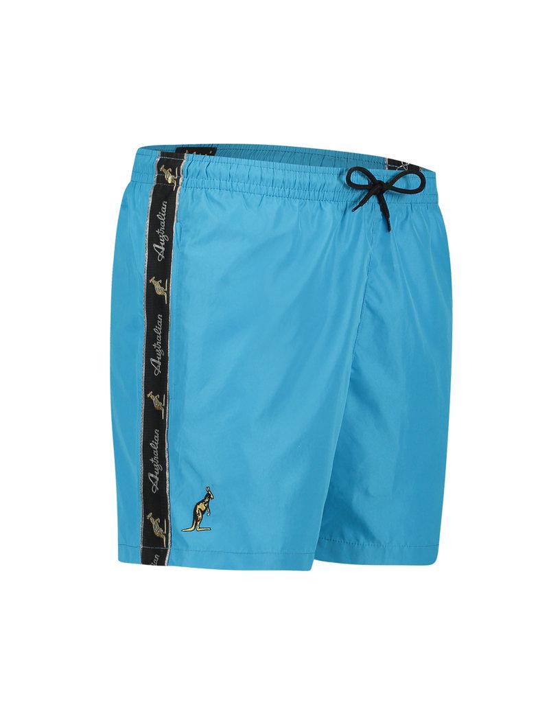 Australian Australian Swim Shorts Smash with tape (Turquoise/Black)